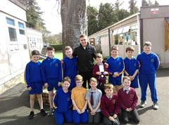 6 Nations Star visits St. Brigid