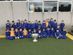 Sam Maguire Cup Visits Junior Infants