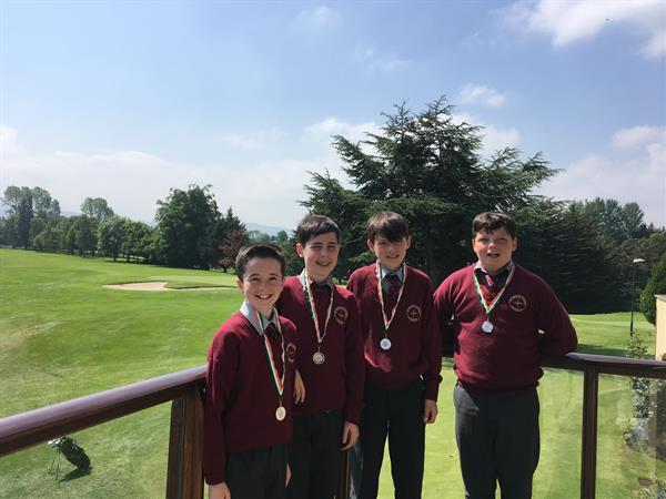 6th Class Golfers