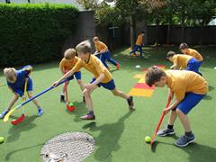 PE Fun in the Summer Sun!