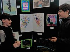 6th Class Art Exhibition