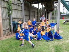 1st Class fun at Fort Lucan!
