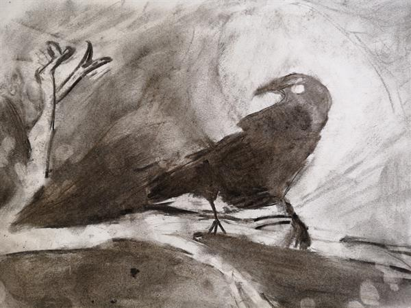 Charcoal Crows