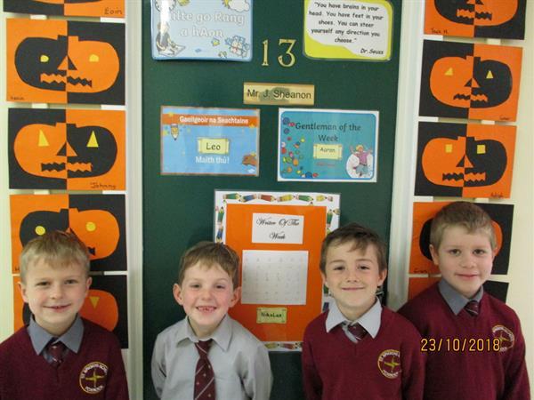 Mr Sheanon's October Awards