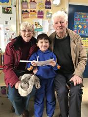 Grandparents Day in Junior Infants