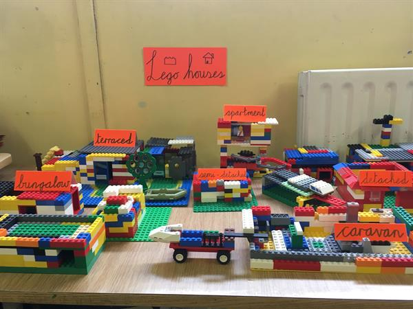 Lego houses!