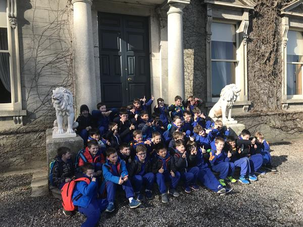 A lovely tour of Cabinteely House