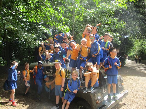 School Tour to the Zoo