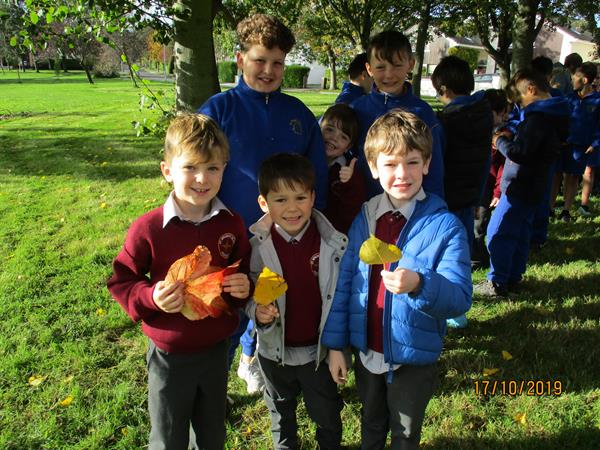 Nature Walk with Senior Infants