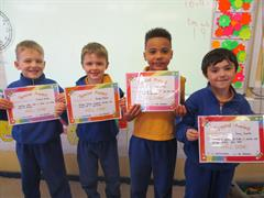 Junior Infants - 2nd class October Assembly Awards