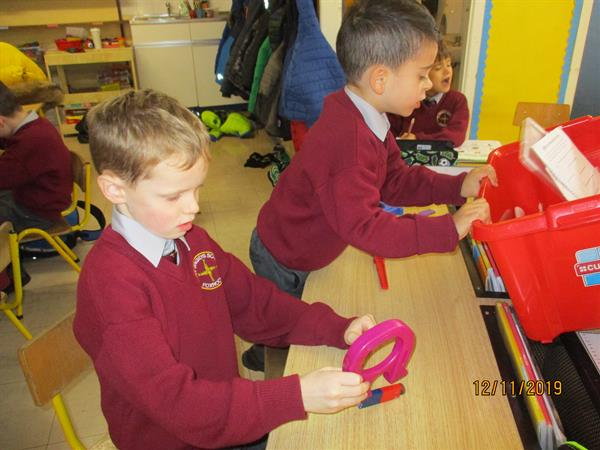 Science Week in Senior Infants