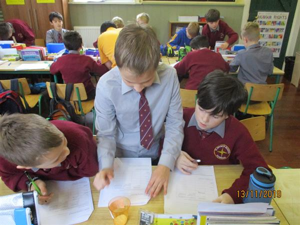 Science Week in 5th Class