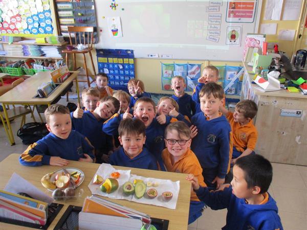 Healthy Eating in Senior Infants