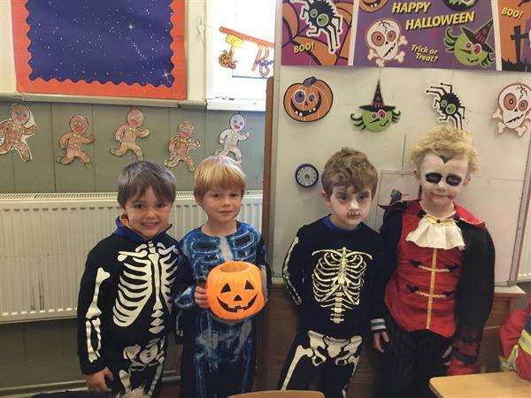 Hallowe'en in Junior Infants