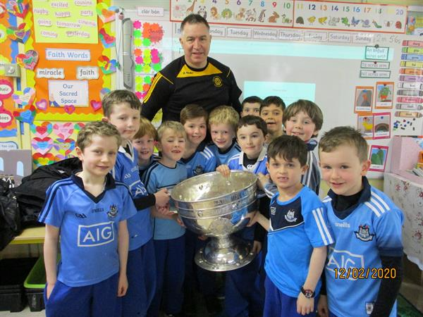 Sam Maguire Cup visits First Class!